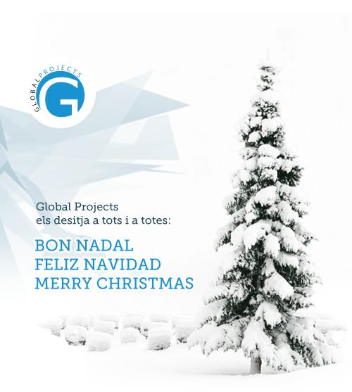Global Projects os desea Felices Fiestas!