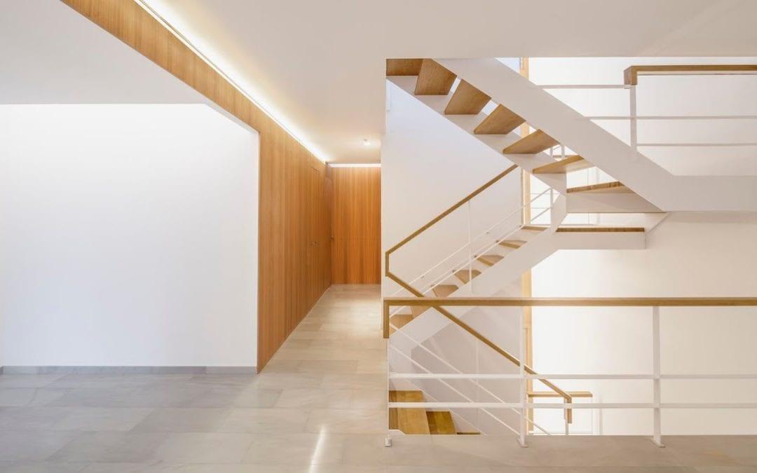 La nueva vivienda construída por Global Projects publicada en Afasia arquitectura