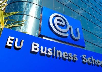 Escuela de negocios EU Business Av Diagonal