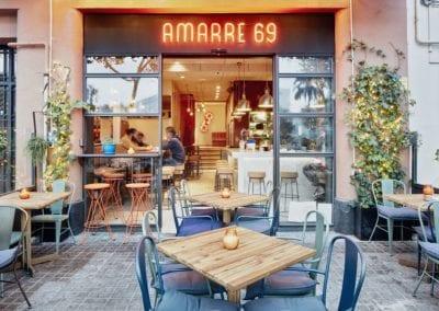 Restaurante Amarre 69 barceloneta 1