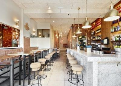 Restaurante Amarre 69 barceloneta 3